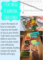 7 day meal planning challenge